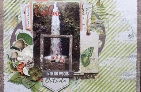 Botanical Waterfall Layout