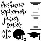 Free High School Die Cut Files