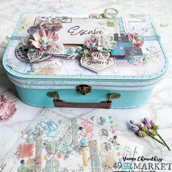 Altered Art Memory Box