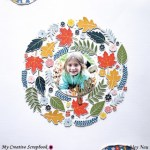 Fall Concentric Wreath Layout