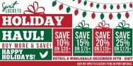 HUGE Holiday Savings!