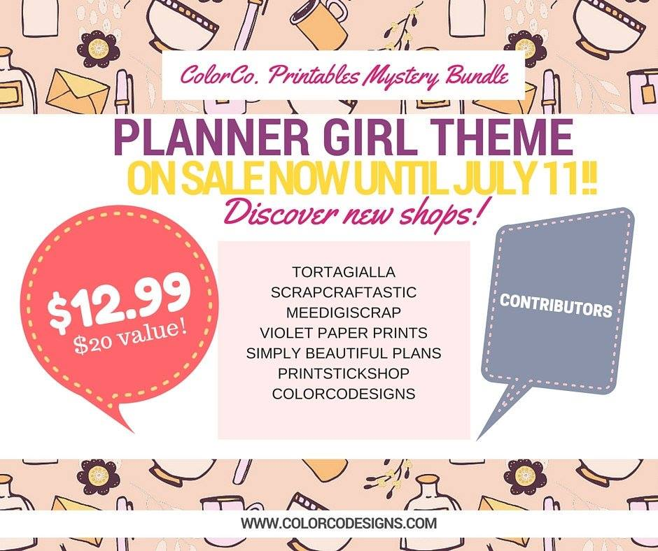 ColorCo Monthly Mystery Bundle - Planner Girl!