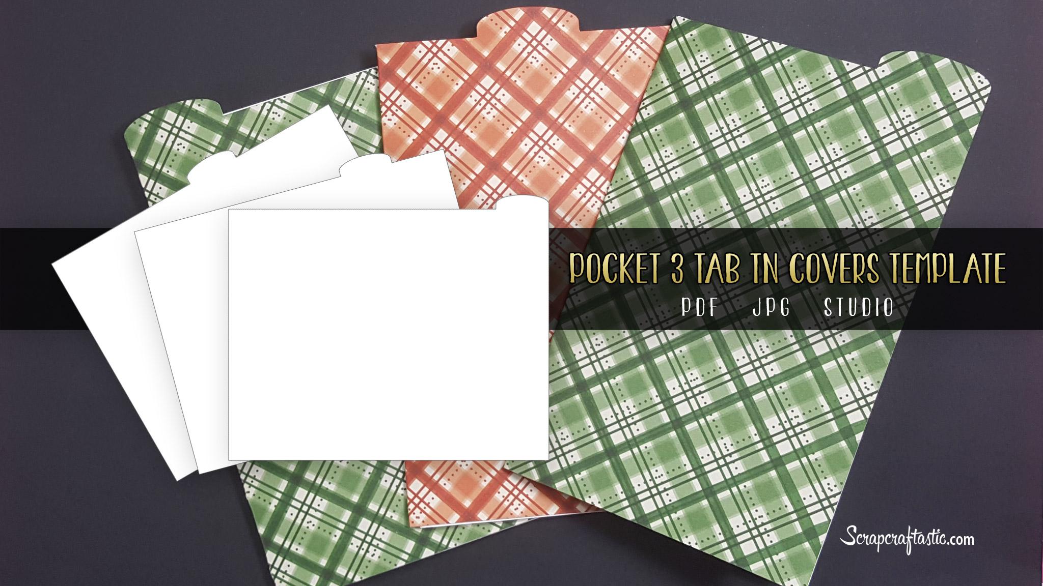 Pocket 3 Tab TN Covers Template