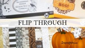Recollections Halloween Papers – Ravenshead Manor & Boo!