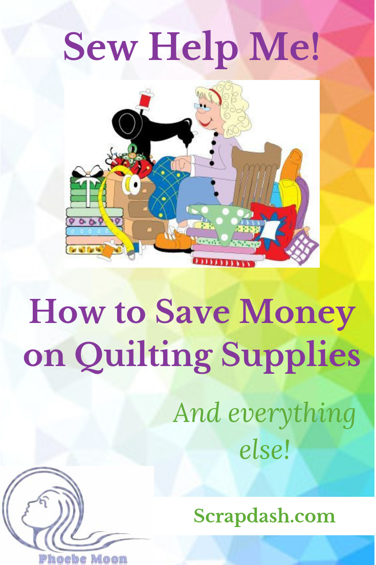 Sew Help Me: Saving Money