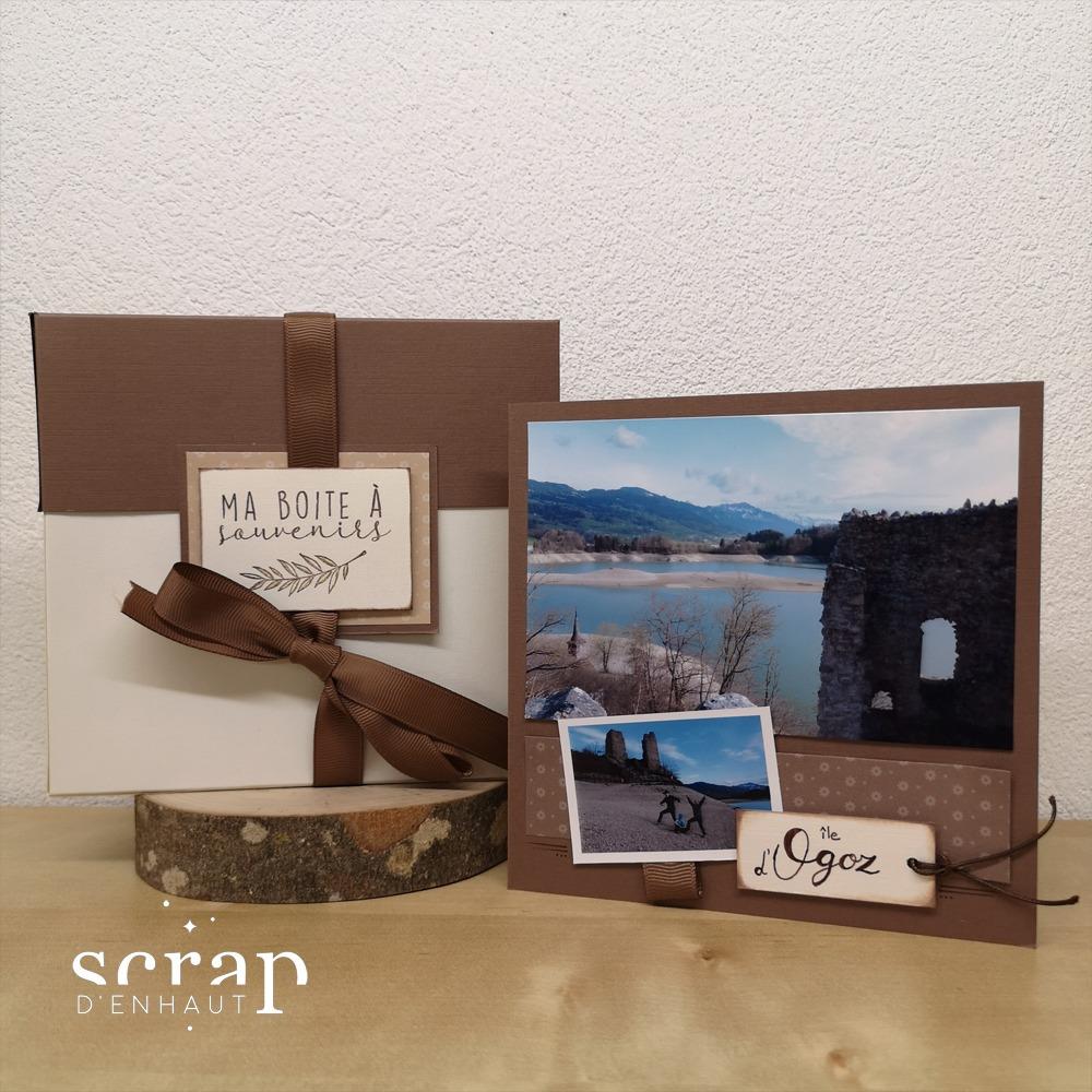 Mini album boîte