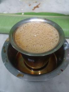 Local coffee.