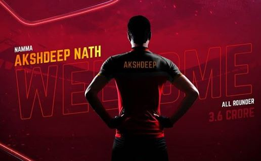 IPL Auctions 2019 RCB: New Entries in Royal Challengers Bangalore akshdeep nath