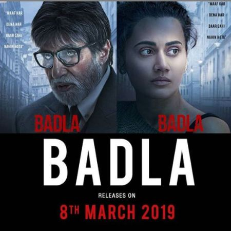 Badla Movie: Trailer In Trending, Amitabh & Taapsee In Lead Roles feature images