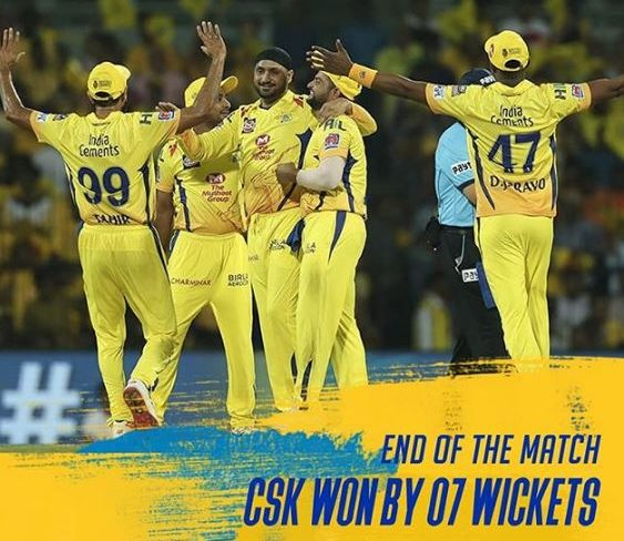 CSK Spinners Dominated RCB And Won The Season Opener by 7 WIckets 1