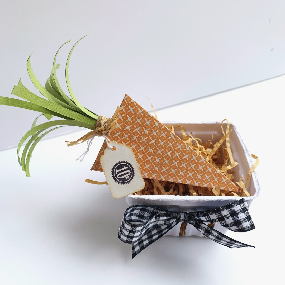 How To Make Carrot Easter Boxes
