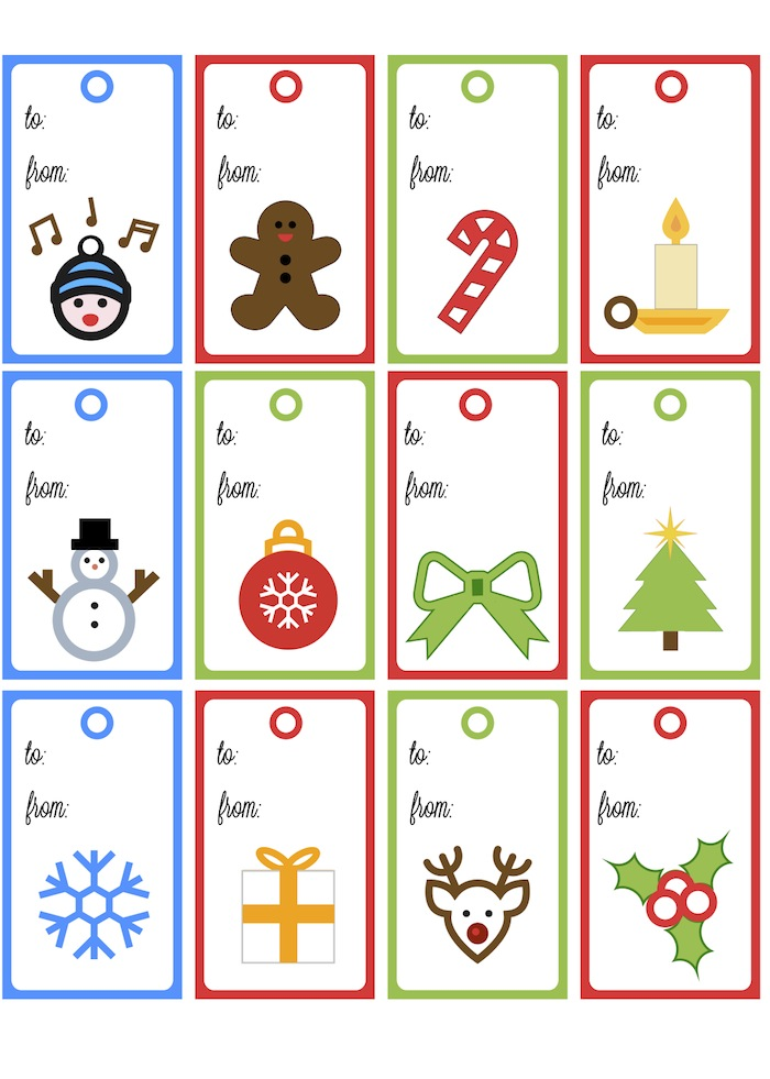 Christmas Tags Quick But Cute Scrappystickyinkymess