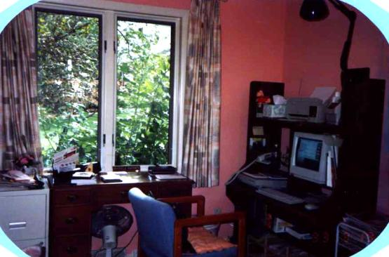 This is my first computer and where I was when I met my husband (on AOL) in 1993.