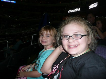Sami & Megan at Miley Cyrus concert