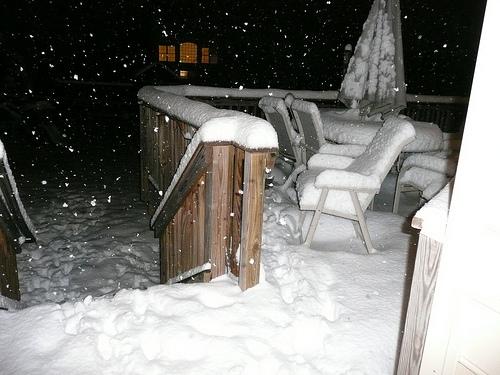 8pm snowmageddon 2010 in Washington DC
