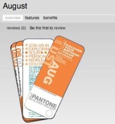 PANTONE Universe - August, Colorstrology