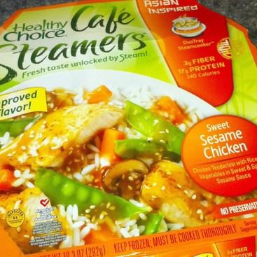 Healthy Choice meal
