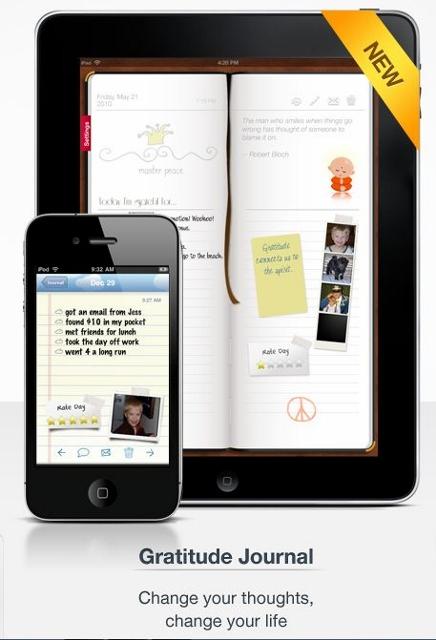 gratitude journal app iphone ipad