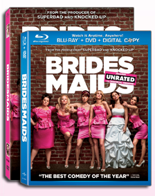 Bridesmaids movie DVD