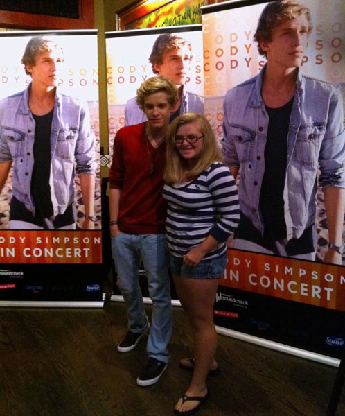 Cody simpson wal mart soundcheck contest trip was awesome cody simpson wal mart soundcheck meet greet m4hsunfo