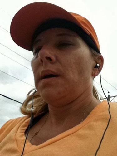 running first half marathon