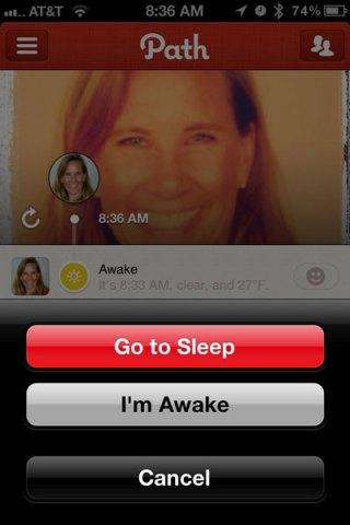 sleep or awake
