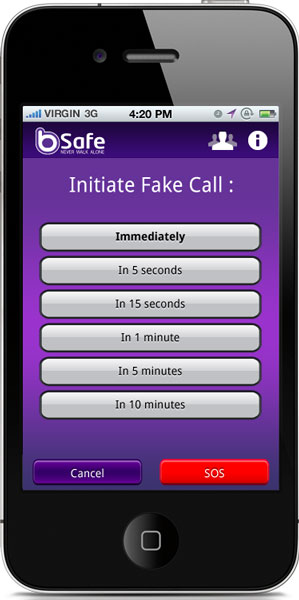 bsafe face call