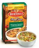 Bertolli Meal Soup Chicken Rotini