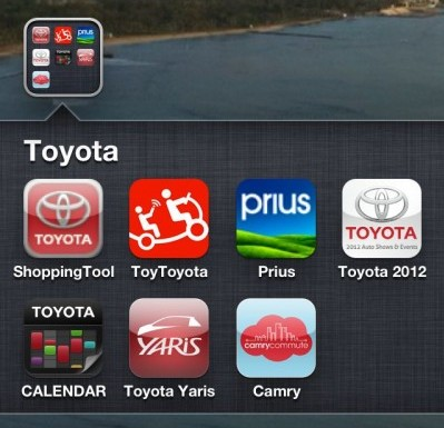 toyota apps for iphone