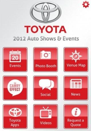 Toyota iphone app