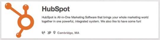 hubspot tech companies on pinterest