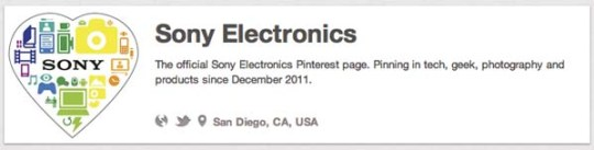 sony electronics tech companies on pinterest