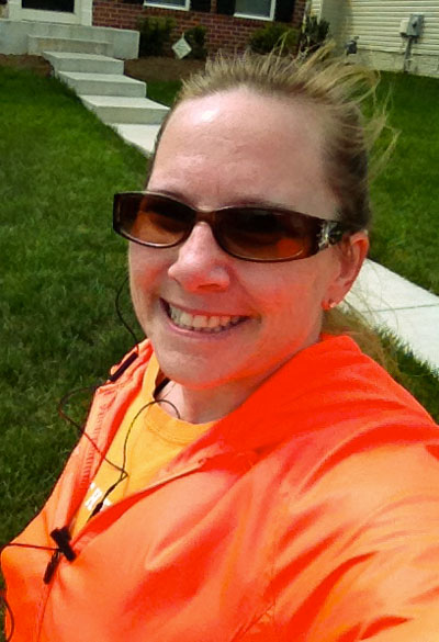 michele mcgraw running half marathon training