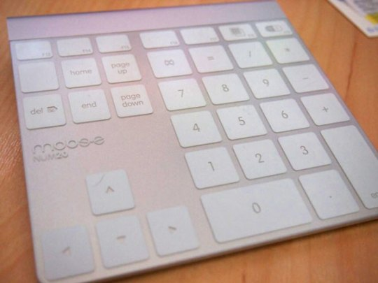 Magic NumPad for Apple trackpad