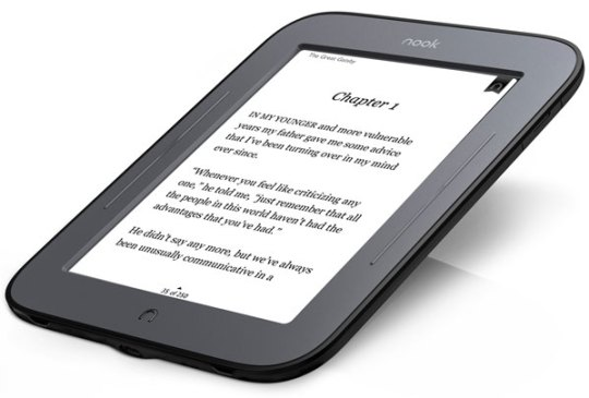NOOK simple tough - best tech for travel