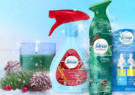 Holiday Febreze scents