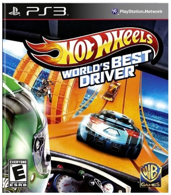 hot wheels world's best driver PS3 best family video game.