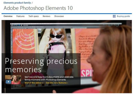 adobe photoshop elements digital storytelling