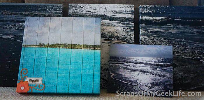 HP Canvas Wall Art Photo