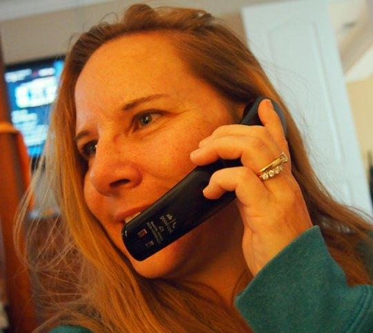 making call on good call handset
