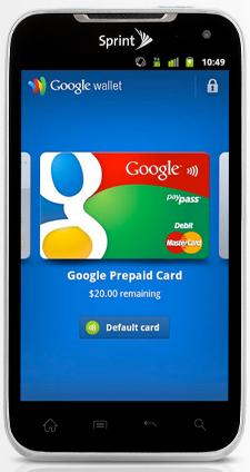 Google Wallet on LGViper