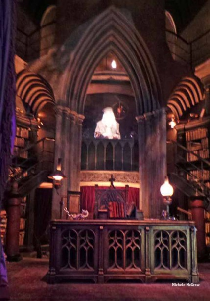 harry potter ride experience in line