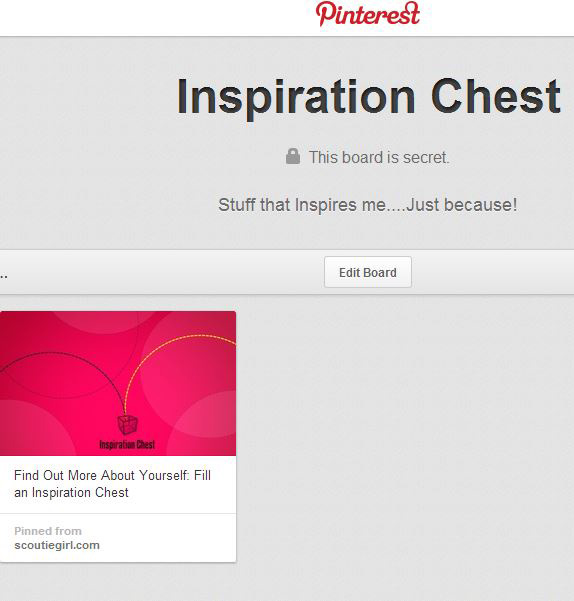 Inspiration Chest