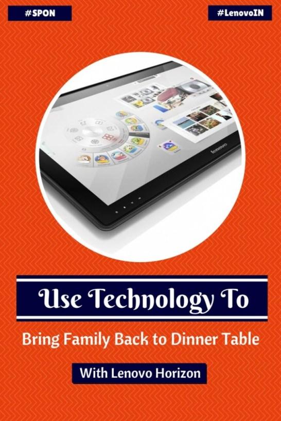 lifestyle technology Lenovo Horizon Table PC