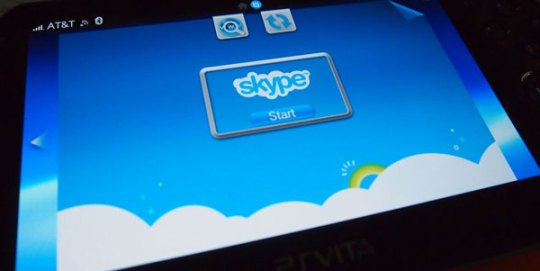 skype on ps vita