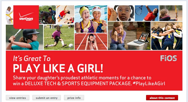 Play Like A Girl Verizon