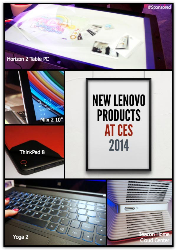 New Lenovo Products at CES 2014