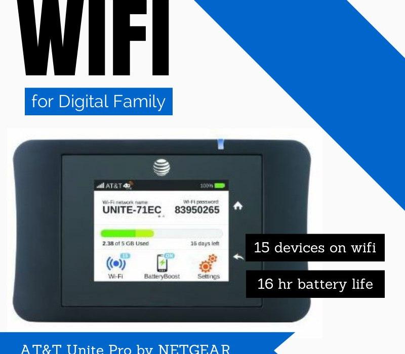 AT&T Unite Pro 4G mobile hotspot