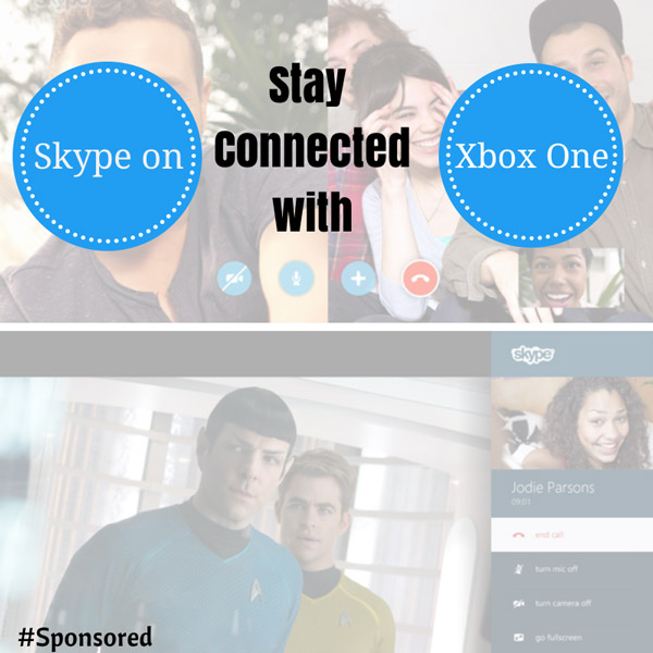 stay connected with skype on xbox one
