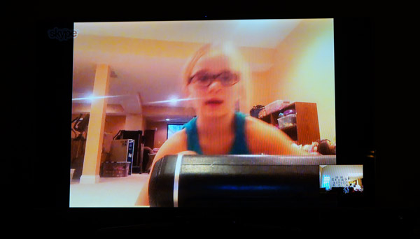 skype with kids on the xbox one